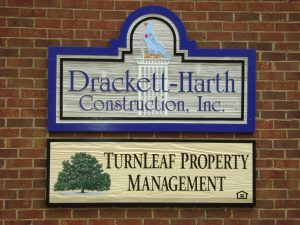 Turnleaf Property Management Building Sign